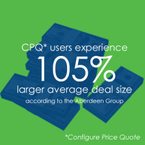 Larger Average Deal Size with CPQ